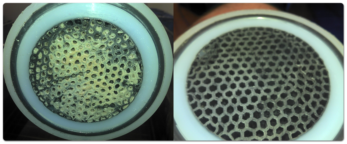 AMTEK műanyag hőcserélő vegyszeres/ultrahangos tisztítása