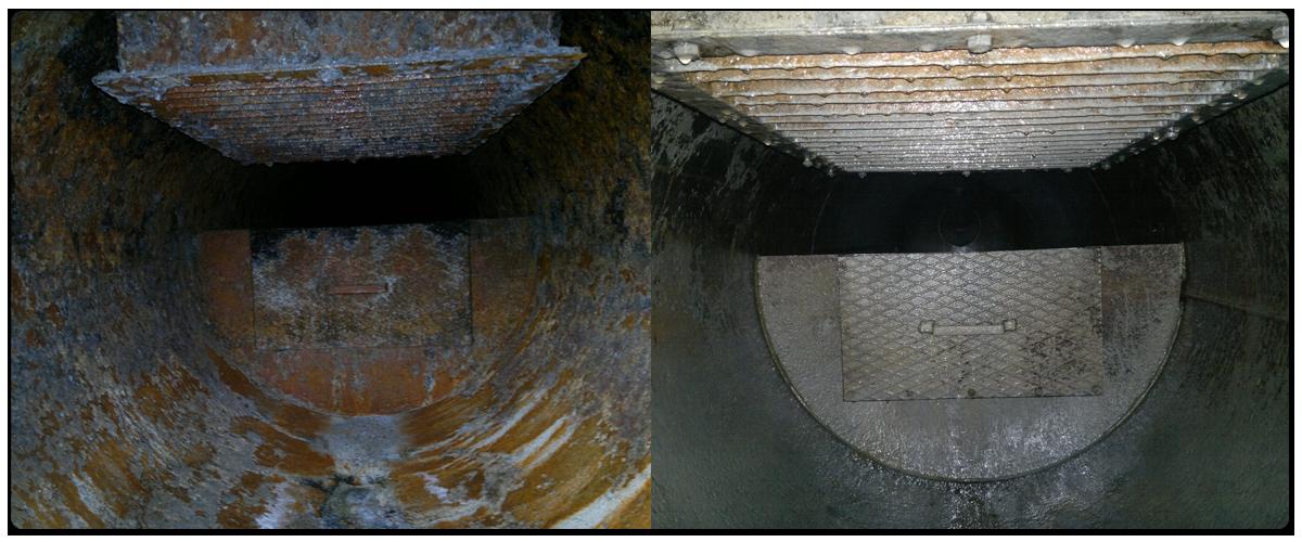 Kőolajipari szeparátor vegyszeres tisztítása és passziválása